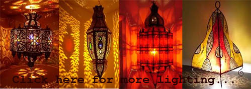 Moroccan lamps & lanterns