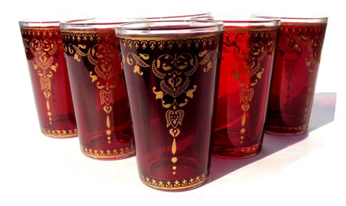 Roja tea glasses
