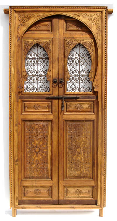 Moroccan double door