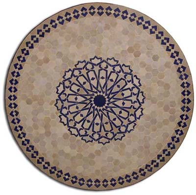Andalusia mosaic Table