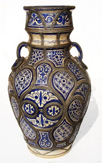 Moroccan Pottery Urns Antique Pottery Moroccan Vases