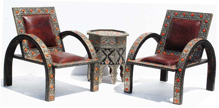 Moroccan Living Room Sets