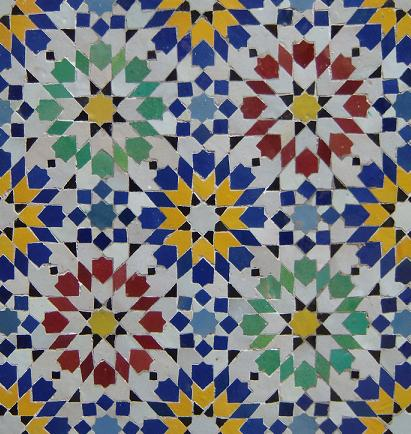 Traditional Moroccan Mosaic Tile