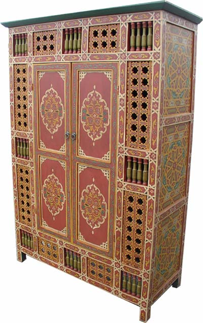 Maguna red armoire