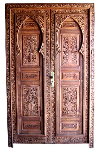 Moorish doors - moorish mediterranean home decor doors