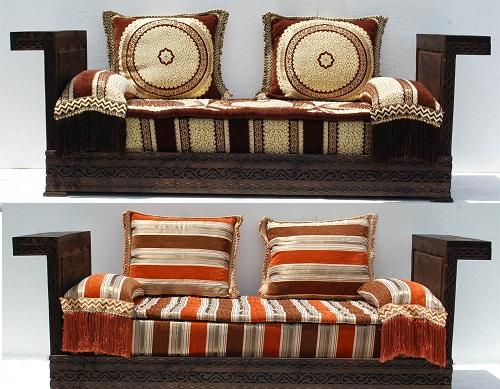 & New moroccan sofa style