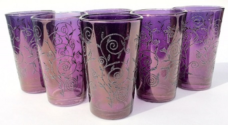 Mozona tea glasses