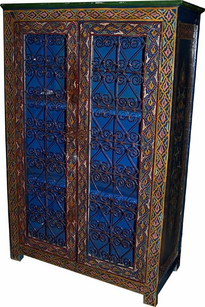 Filigree Furniture Moroccan Wrought Iron Filigree Panel