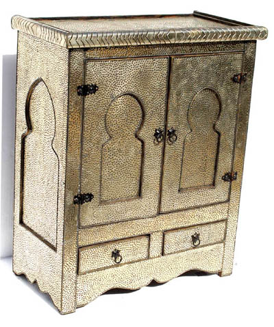Silver palace cabinet