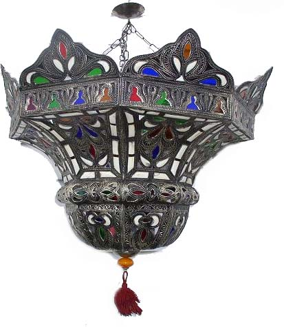 Large camel moroccan chandelier johara chandelier aloadofball Image collections