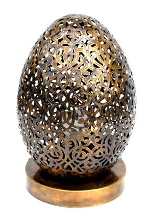 Kora Brass Table Lamp