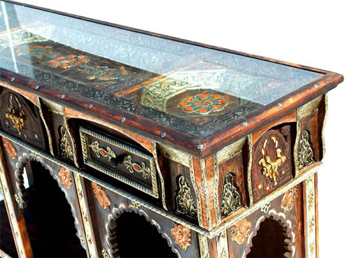 Moroccan unique cabinet