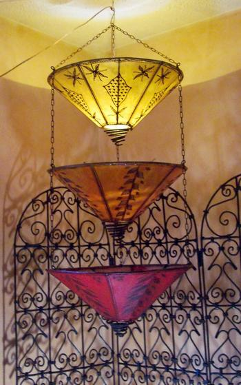 Moroccan tears hanging henna lamp :  lamp moroccan hanging henna lamp