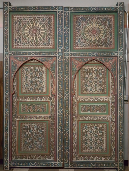 Tamassna door - Moroccan Architectural Doors, Moroccan Architecture Project Door