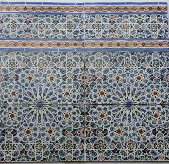 Spanish ceramic tiles bathroom ceramic tiles for Spanish decorative tile