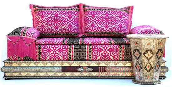 Moroccan Salon: Moroccan living room set, moroccan salon & sofa ...
