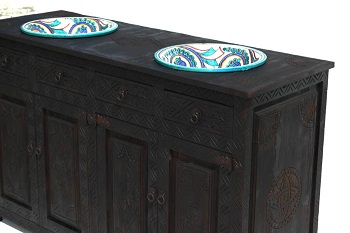 moroccan bathroom sink cabinet