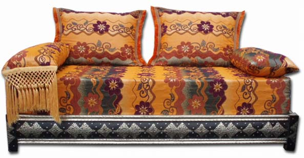 Moroccan sofa Mekissa queen set