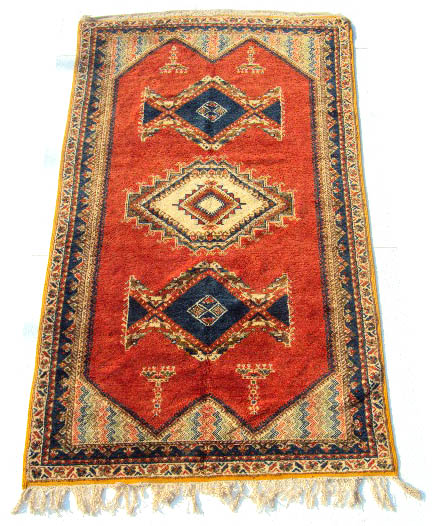 Moroccan Area Wool Rug