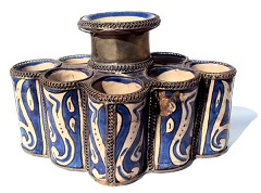 Moroccan unique ink pot