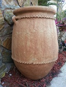 Zagora large clay planter