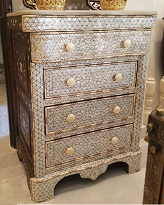 Aleppo mother of pearl dresser