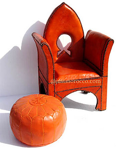 Alhambra orange chair