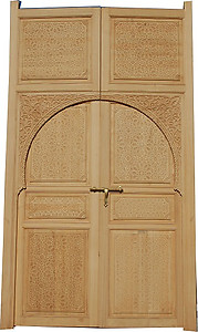 Large moorish door