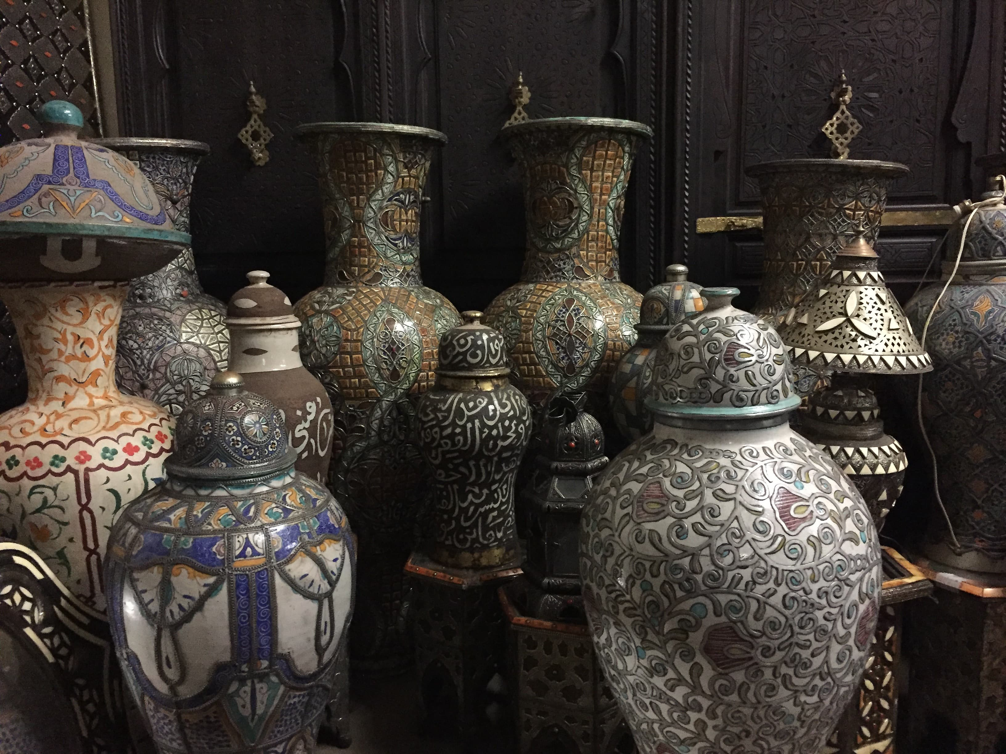 Exquisite moroccan furniture