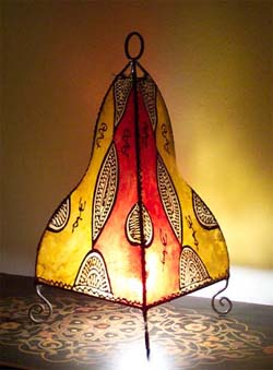Gnawa table lamp