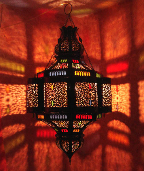 Moroccan large chandelier