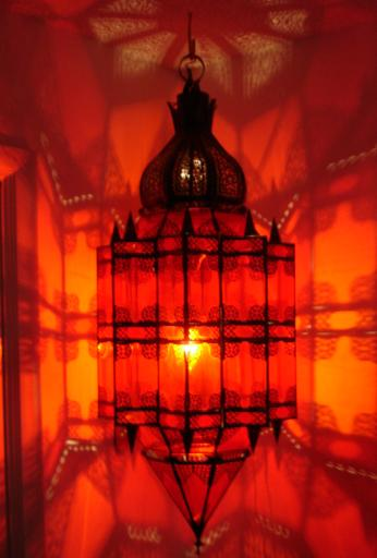 Red jewel lantern