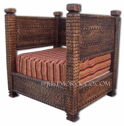 Primitive Furniture Primitive Berber Carved Furniture Primitive