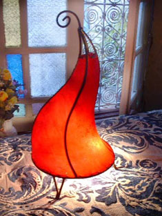 Moroccan Lamp Red bliss
