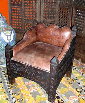 Gnawa chair