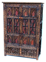 African armoire