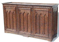 Moroccan carved cabinet